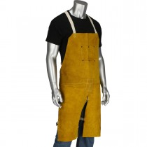 Ironcat® Leather Split Leg Welding Apron  (#7011/)