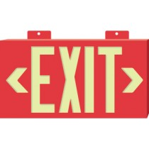 Glo Brite Exit Sign, Red (#7011)
