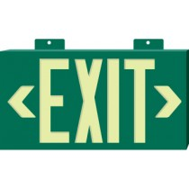 Glo Brite Exit Sign, Green (#7021)