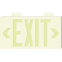Glo Brite Exit Sign, White (#7031)