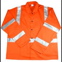 Irontex FR Cotton Jacket Hi-Vis Orange (#7060)