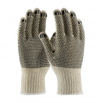 PIP® Seamless Knit Cotton / Polyester Glove with Double-Sided PVC Dot Grip - Medium Weight  (#708SKBS)