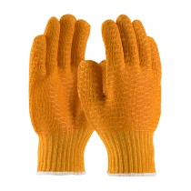 PIP® Seamless Knit Polyester Glove with Double-sided PVC Honeycomb Criss-Cross Grip  (#708SKH)