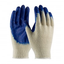 PIP® Seamless Knit Cotton / Polyester Glove with Latex Coated Smooth Grip on Palm & Fingers  (#708SLC)