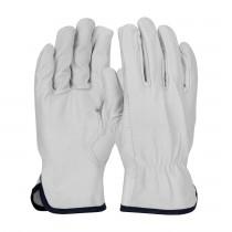 PIP® Economy Grade Top Grain Goatskin Leather Drivers Glove - Keystone Thumb  (#71-3601)