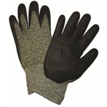 PosiGrip® Seamless Knit Aramid Blended Antimicrobial Glove with Nitrile Coated Foam Grip on Palm & Fingers  (#710SANF)