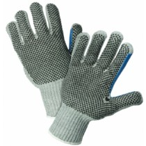 PIP® Seamless Knit Cotton / Polyester Glove with Double-Sided PVC Dot Grip - 7 Gauge  (#712SKBSGT)