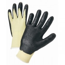 Nitrile Coated Kevlar Gloves (#713KSNF)