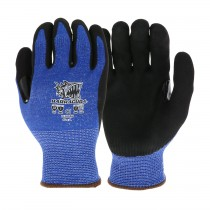 Barracuda® Seamless Knit HPPE Blended Glove with Nitrile Coated Sandy Grip on Palm & Fingers - Touchscreen Compatible  (#713HSSN)