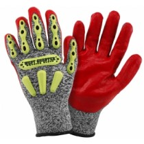 R2 FLX Knuckle Protection Gloves (#713SNTPRG)