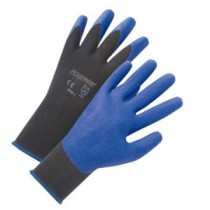 Air Injected PVC Palm Nylon Gloves (#713SPA)