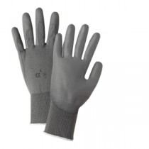PosiGrip® Seamless Knit Nylon Glove with Polyurethane Coated Smooth Grip on Palm & Fingers  (#713SUCG)