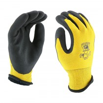 Barracuda® Seamless Knit HPPE/Nylon Glove w/ Acrylic Liner and Latex MicroSurface Grip on Palm & Fingers  (#713WHPTPD)