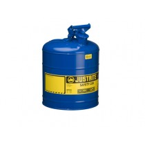 Justrite Type I Safety Can, Blue, 5 gallon (#7150300)