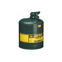 Justrite Type I Safety Can, Green, 5 gallon (#7150400)
