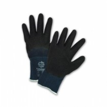 PosiGrip® Seamless Knit Nylon Glove with Latex Coated Crinkle Grip on Palm, Fingers & Knuckles  (#715SLC)