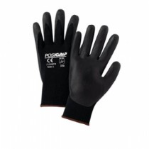PosiGrip® Seamless Knit Nylon Glove with Nitrile Coated Foam Grip on Palm & Fingers  (#715SNFB)