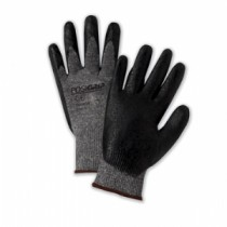 PosiGrip® Seamless Knit Nylon Glove with Nitrile Coated Foam Grip on Palm & Fingers  (#715SNFLB)
