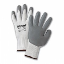 PosiGrip® Seamless Knit Nylon Glove with Nitrile Coated Foam Grip on Palm & Fingers  (#715SNFLW)