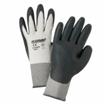PosiGrip® Seamless Knit Nylon Glove with Nitrile Coated Sponge Foam Grip on Palm & Fingers  (#715SNFP)