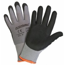 PosiGrip® Seamless Knit Nylon Glove with Nitrile Coated Foam Grip on Palm & Fingers  (#715SNFTP)
