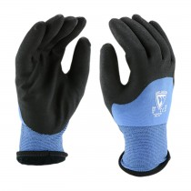 West Chester® Seamless Knit Nylon Glove with Acrylic Lining and Latex Coated MicroSurface Grip on Palm, Fingers & Knuckles  (#715WHPTND)