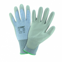 PosiGrip® Seamless Knit HPPE Blended Glove with Polyurethane Coated Smooth Grip on Palm & Fingers  (#718HSPU)