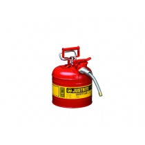 JustriteType II AccuFlow Safety Can, 2 gallon, Red (#7220120)