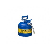 JustriteType II AccuFlow Safety Can, 2 gallon, Blue (#7220320)