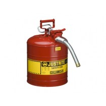Justrite Type II AccuFlow Safety Can, 5 gallon, Red (#7250130)