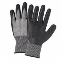 PosiGrip® Seamless Knit PolyKor® Blended Glove with Nitrile Coated Smooth Grip on Palm & Fingers  (#730TBN)