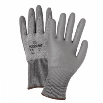 PosiGrip® Seamless Knit PolyKor® Blended Glove with Polyurethane Coated Smooth Grip on Palm & Fingers  (#730TGU)