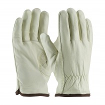 PIP® Top Grain Cowhide Leather Glove with White Thermal Lining - Keystone Thumb  (#77-265)