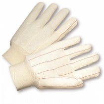 Nap In Quilted Cotton Double-Palm Gloves (#790NI)