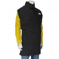 Ironcat® Combination FR Cotton / Leather Cape Sleeve with Apron  (#8051)