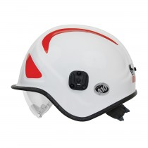 A10™ Ambulance & Paramedic Helmet with Retractable Eye Protector  (#813-32XX)