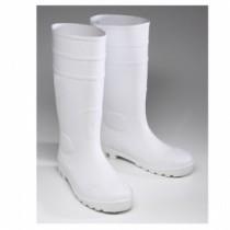 White PVC Boot (#8325)