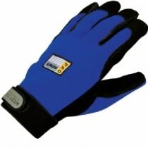 Split Cowhide Spandex Back with Hook and Loop Gloves (#86000)