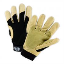 Winter Lined Ironcat Heavy Duty Grain Pigskin Hi Dexterity Gloves (#86355)