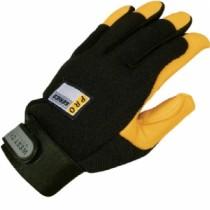 Grain Deerskin Palm Spandex Back Gloves (#86400)