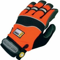 High-Visibility Safety Reinforced Palm Gloves (#86525)