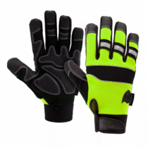 Pro Series Safety Gloves, Green (#86525G)