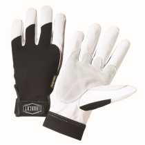 Ironcat Heavy Duty Grain Goat Gloves with 360 Degree Kevlar Lining Gloves (#86552)