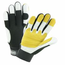 Ironcat Heavy Duty Top Grain Goatskin Double Palm Gloves (#86555)