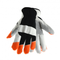 West Chester® Grain Goatskin Glove with Kevlar® Lining, Nomex® FR Back and FR Cotton Fingertips  (#86560)