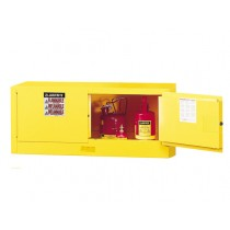 Sure-Grip EX Piggyback Flammable Safety Cabinet, Manual Doors, 12 Gallon Cap. (#891300)