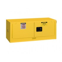 Sure-Grip EX Piggyback Flammable Safety Cabinet, Self-Close Doors, 12 Gallon Cap. (#891320)
