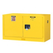 Sure-Grip EX Piggyback Flammable Safety Cabinet, 1 Shelf, Manual Doors, 17 Gallon Cap. (#891700)