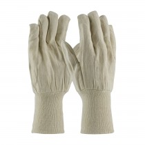 PIP® Premium Grade Cotton Canvas Single Palm Glove - Extended Knitwrist  (#90-908/5KW)