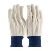PIP® Premium Grade Cotton Canvas Single Palm Glove - Knitwrist  (#90-908BW)